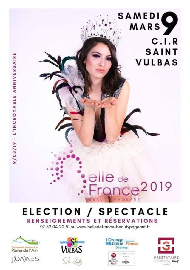 Adelaïde Deboisvilliers participe à Belle de France 2019 le 9 mars