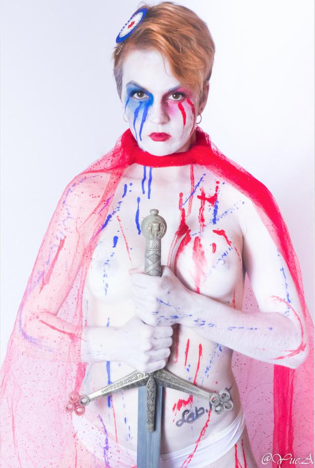Le body painting, un art que maîtrise Seb Body Arts