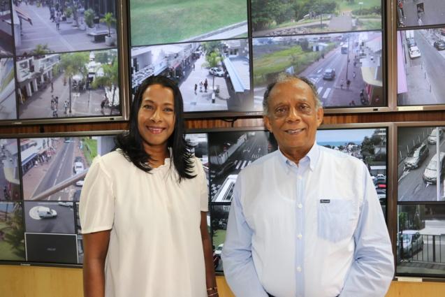 Nalini Véloupoulé-Merlo et Gilbert Annette ont fait de la sécurité de proximité une priorité