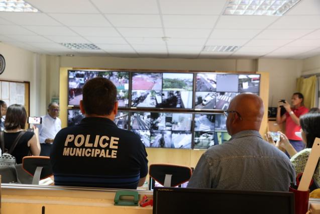 Le Centre de Surveillance de Vidéo Urbaine se situe dans un lieu protégé...