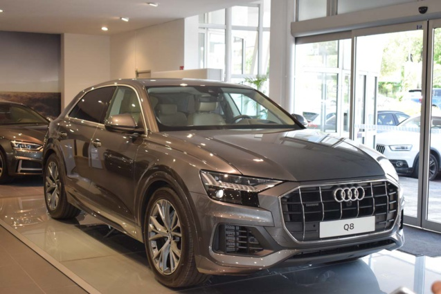 L'Audi Q8, un grand SUV coupé