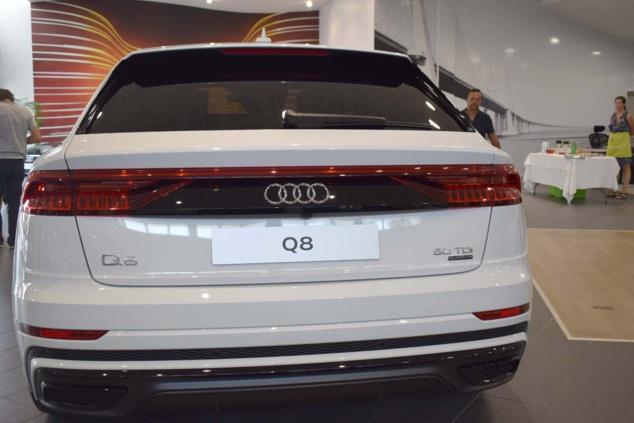 Audi Q8 et nouvelle Audi A7 Sportback: du haut de gamme