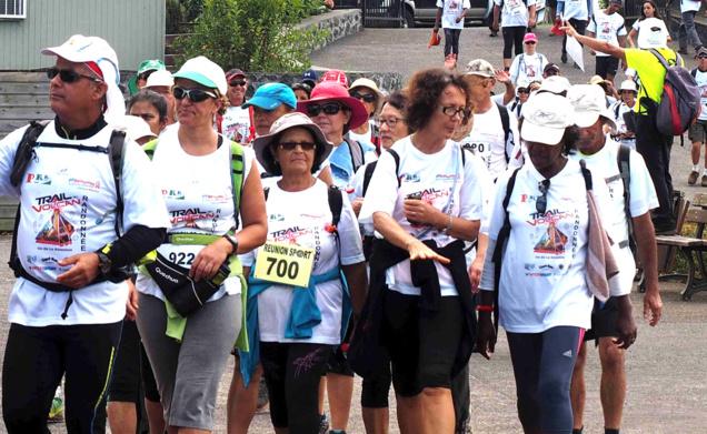 700 marcheurs attendus lors de cette 6ème édition du Trail du Volcan