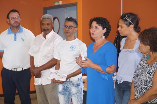 Distribution des dons aux associations