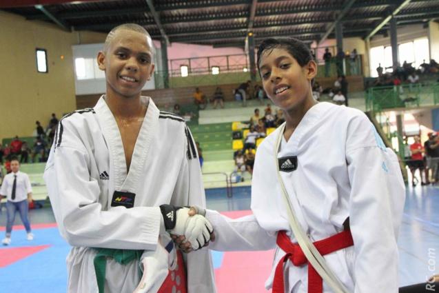 Le Taekwondo, c'est aussi le respect de l'adversaire et beaucoup de fair-play