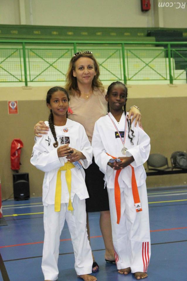 Les félicitations de la Présidente Emmanuelle Gigan du TKD 974