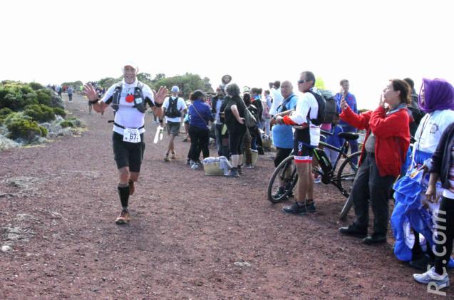 Daniel Grondin a participé à toutes les éditions du Trail du Volcan