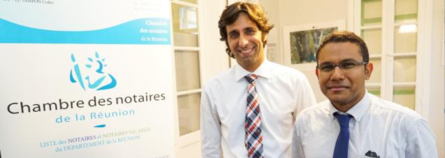 Haroun Patel nouveau président de la Chambre des Notaires de La Réunion
