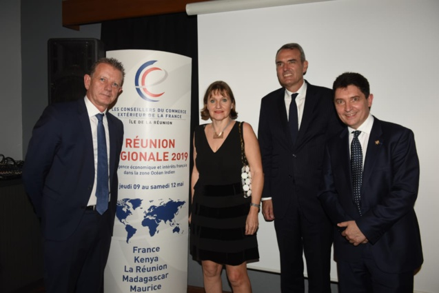 Réunion régionale des Conseillers du Commerce Extérieur de la France à Saint-Gilles