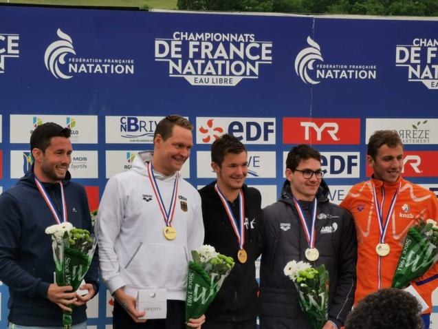 Natation: Julien Codevelle vice-champion de France des 25 km