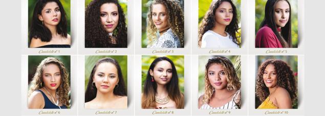 Miss Salazie 2019: les 10 candidates en photo