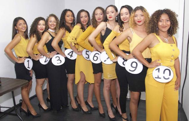 Les 10 candidates Miss Salazie 2019