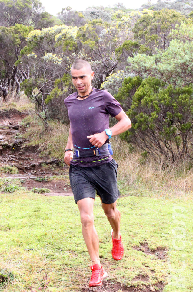 Jannick Séry, le coureur de Grand Bassin pour la premièreb fois au Dodo Trail