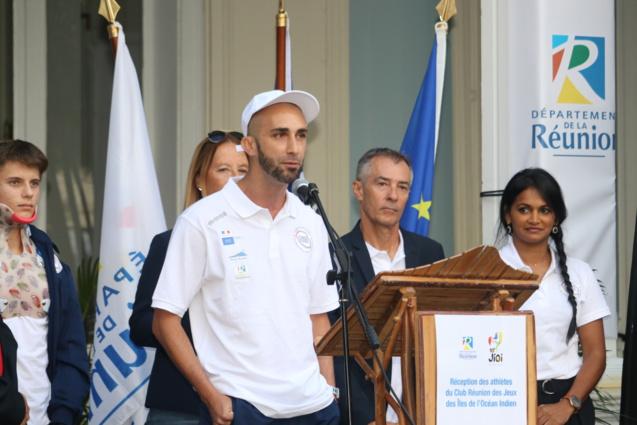 Sébastien Maillot désigné porte drapeau
