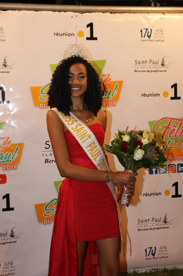 Mélanie Odules, Miss Saint-Paul 2019