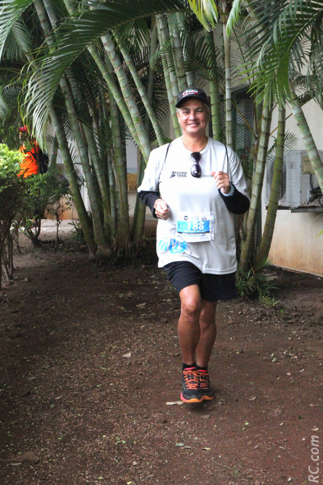 Marie-Régine Boyer de La Réunion, a disputé les 10 km