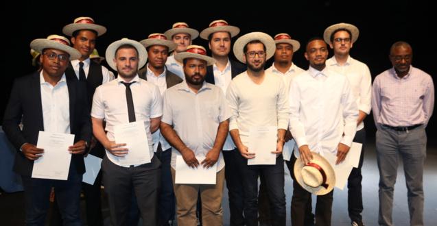 Remise de diplômes UFR Sciences et Technologies au Téat Champ Fleuri