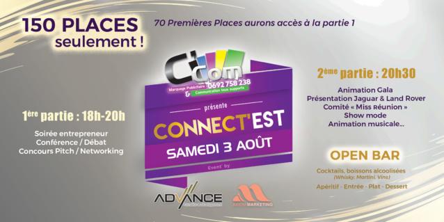 """""""Connect'Est"""" à Sainte-Anne le samedi 3 août"""