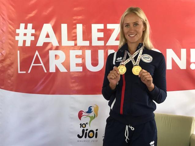 Les premières médailles sont tombées en natation