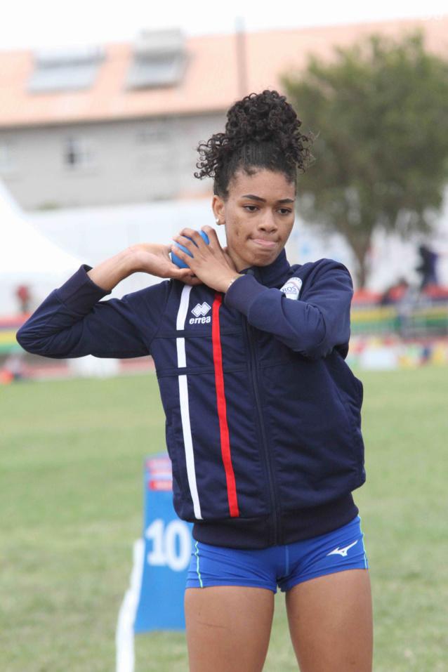 Jade Coreia à l'héptathlon