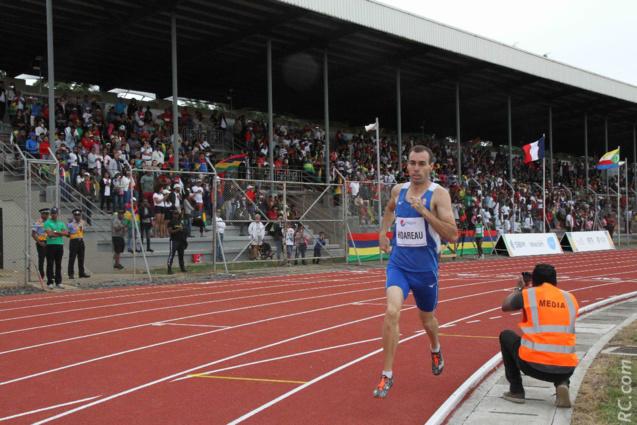 Julien Hoareau sur le 1500 m