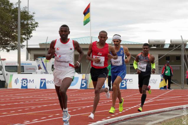 Jean-Marie Cadet sur le 10 000m