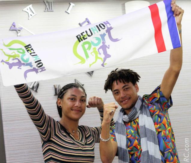 Lorenza et Mathieu: «Allez La Réunion»!