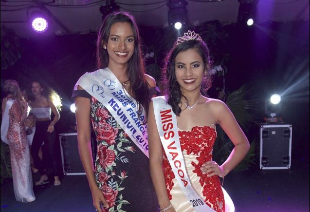 Miss Réunion et Miss Vacoa