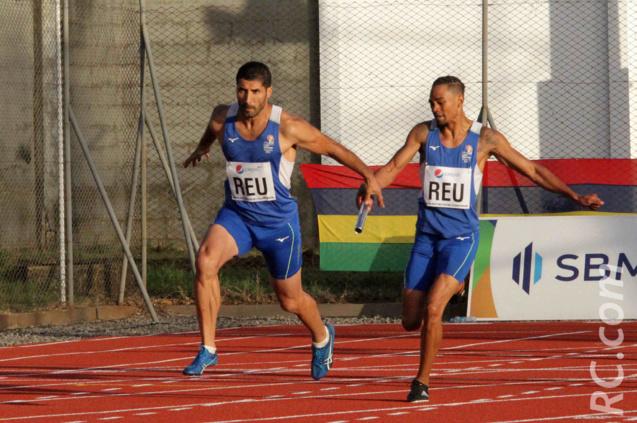 Passage de relais entre Hajatiana Randrianasolo et Salim Sdiri. La catastrophe dans le relais suivant!