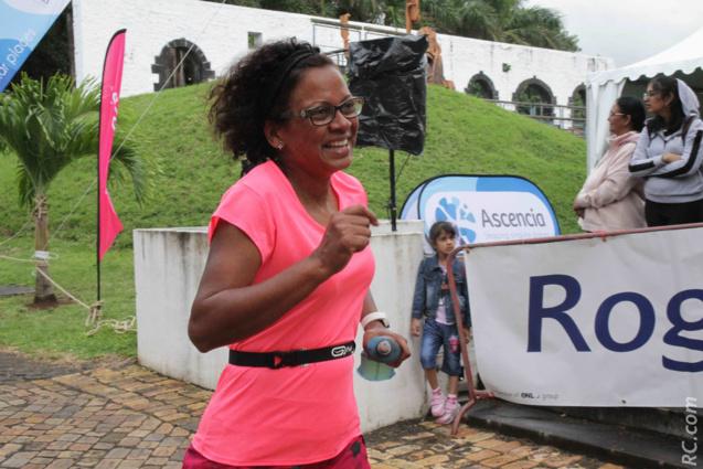 Farida Law Shun de Saint-André disputait son deuxième Héritage Trail