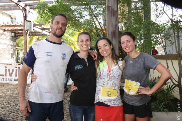 Jean-Marc Rivet, Nicole Talbot (ROAG), Sophie Laplane et Léa Cavelier