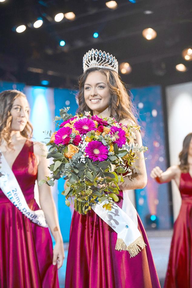 Morgane Lebon couronnée Miss Réunion 2019