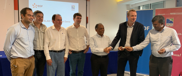EDF-Mairie de Saint-Denis: le Datalab pour économiser l'énergie