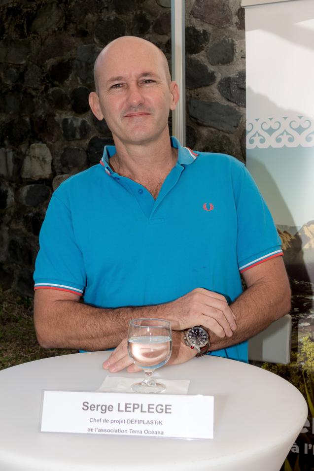 Serge Leplège, chef de projet Défi Plastik pour Terra Océana
