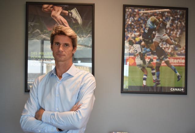 Axel Gallant, directeur général Canal+ Réunion