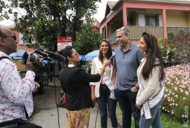 Reportage de la Mauritius Broadcasting Corporation (MBC) sur la venue de deux jolies ambassadrices de Maurice à La Réunion