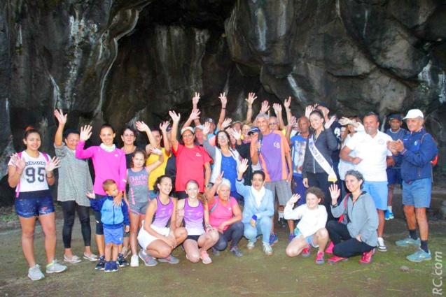 Randonnée pédestre à la Caverne des Hirdondelles en compagnie de Miss Réunion 2019