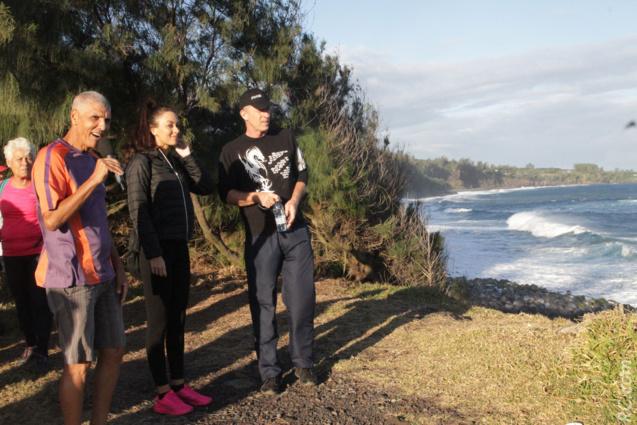 L'océan du Sud Sauvage vu au Pied du Piton Babet