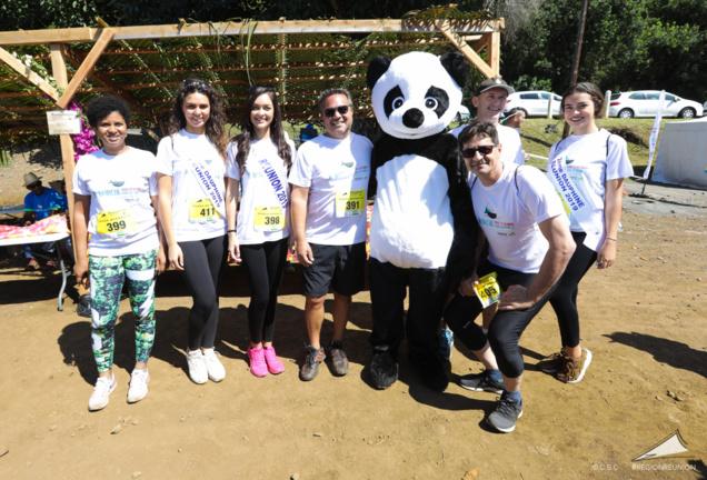 Gros succès pour le Pandathlon 2019 à l'Entre-Deux