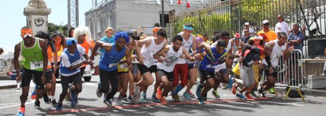Relais de Saint-Denis: courir dans la fantaisie et la convivialité