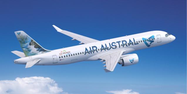 Le premier A220-300 aux couleurs d'Air Austral, arrive dans un an, en novembre 2020