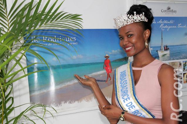 Anne Murielle Ravina, ambassadrice de Rodrigues, a posé ses valises au Tampon pendant quelques jours