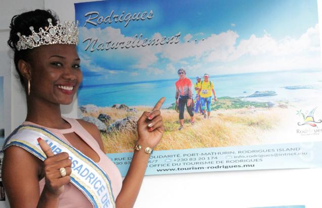 : Rodrigues «naturellement», comme le joli sourire de sa Miss!