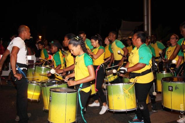 Les tambours, rien de tel pour faire la fête comme il se doit