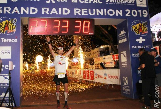 Grégoire Curmer vainqueur du Grand Raid 2019