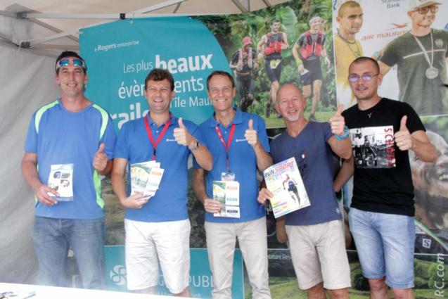 Une belle campagne de promotion de Racing Republic pour le trail à l'île Maurice