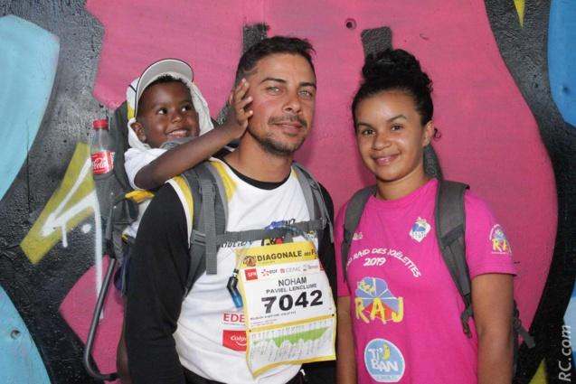 Noham Paviel Lenclume , Christopher et Chloë au sein de l'équipe RAJ