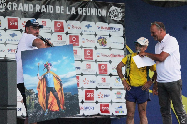 Daniel Guyot collectionne le plus grand nombre de participation au Grand Raid