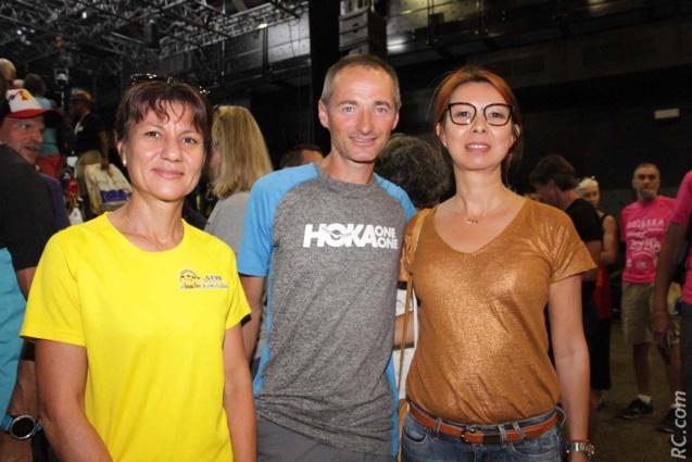 Alexandra Clain, Antoine Guillon et Sandrine Aho-Nienne