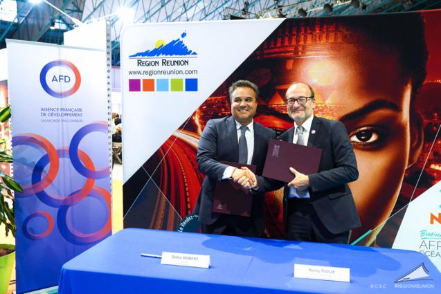 100 millions d'euros de prêt de l'AFD pour la Région Réunion